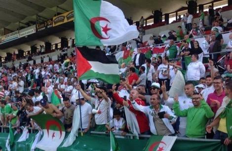 ودية الجزائر وفلسطين تتحول إلى تظاهرة لدعم القضية الفلسطينية