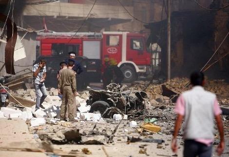 انتحاري بملعب لكرة القدم ببغداد