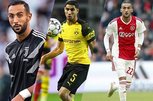 """3 """"أسود"""" تُنافِس 6 لاعبين من تونس والجزائر على جائزة أفضَل لاعبٍ مغاربي"""