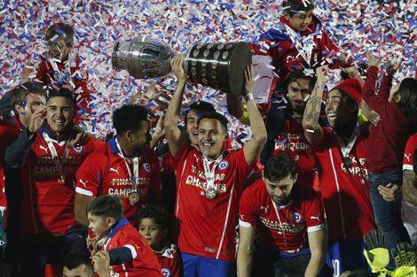 تشيلي تفوز بكوبا أمريكا