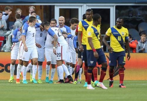 """""""أحفاد العم سام"""" يهزمون الإكوادور ويتأهلون لنصف نهائي """"كوبا أمريكا"""""""