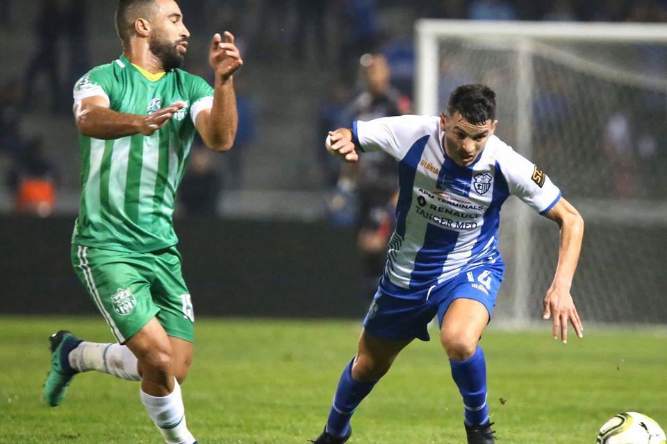 اتحاد طنجة يتغلب على رجاء بني ملال في البطولة
