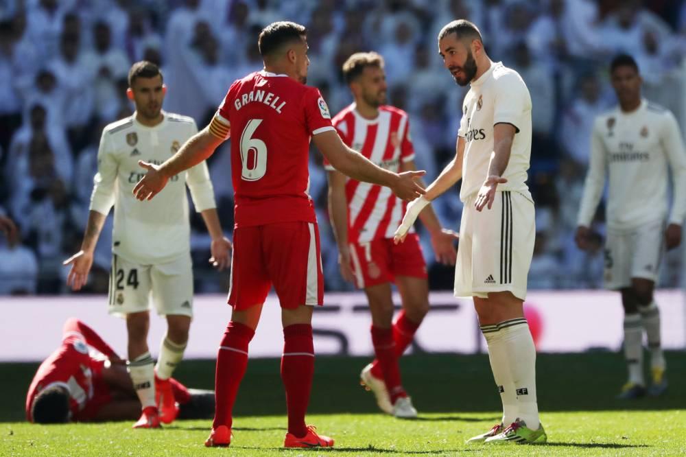 """جيرونا يهزم ريال مدريد في البرنابيو ويبعثر أوراق """"الملكي"""" في الليغا"""