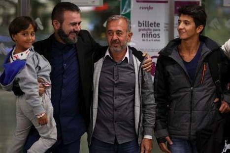 السوري الذي عرقلته مَجرية يضع قدما على سلم التدريب في إسبانيا