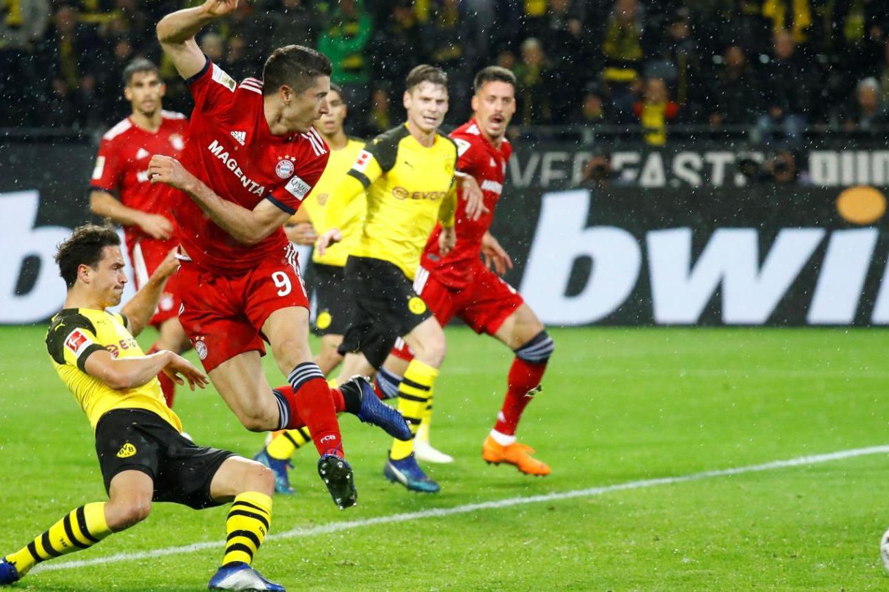 بايرن يلاقي دورتموند في كأس السوبر الألماني