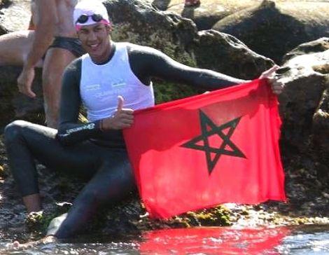 حسن بركة يستعد لربط آسيا وأقيانوسيا سباحة