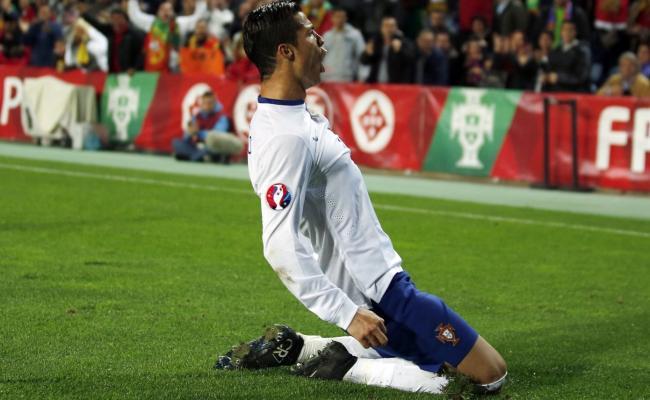 رونالدو هدافا لأمم أوروبا وتصفياتها بـ23 هدفا