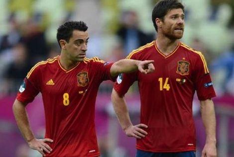 تشابي يعتزل اللعب دوليا مع منتخب اسبانيا