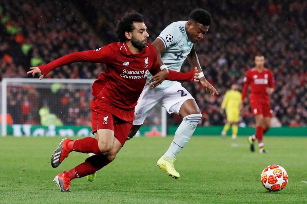 التعادل السلبي يخيم على مباراة ليفربول وبايرن ميونخ في دوري أبطال أوروبا