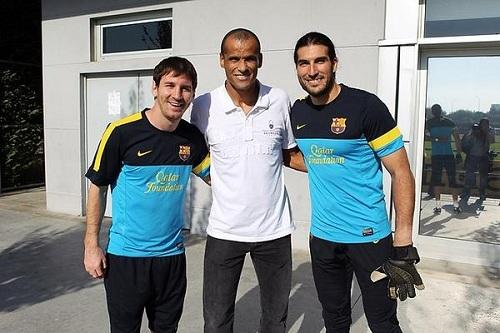 البرازيلي ريفالدو: البقاء في ظل ميسي أمر صعب على أي لاعب