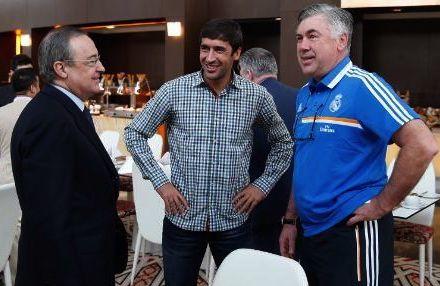 بيريز يعرض على راؤول العودة إلى ريال مدريد