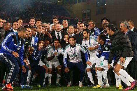 إنجاز الرجاء البيضاوي ينقذ سمعة الرياضة المغربية في 2013