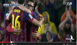 أهداف برشلونة في رايو فاليكانو