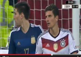 الأرجنتين تدك ألمانيا برباعية