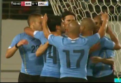 هزيمة المنتخب أمام الأوروغواي