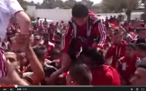 حماس جمهور الوداد بأكادير