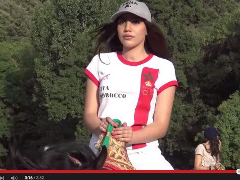 ابنة عويطة تُغني لجمال المغرب