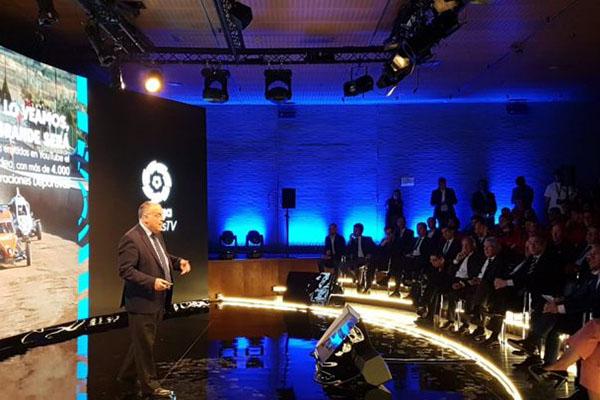 الليغا تدعم الرياضة الإسبانية بتقنية بث حي جديدة