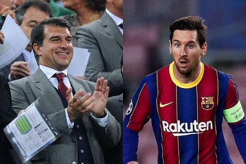 خوان لابورتا: برشلونة لن ينتهي إذا قرر ليونيل ميسي الرحيل