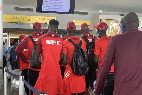حوريا الغيني يصل المغرب استعدادا للوداد