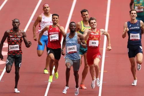إقصاء الكص ونبيل من أولمبياد طوكيو 2020