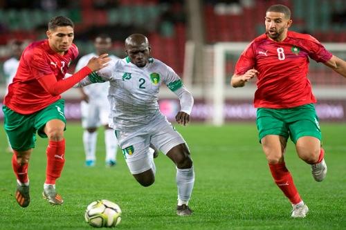 مباراتين وديتين للأسود أمام غانا وبوركينافاسو