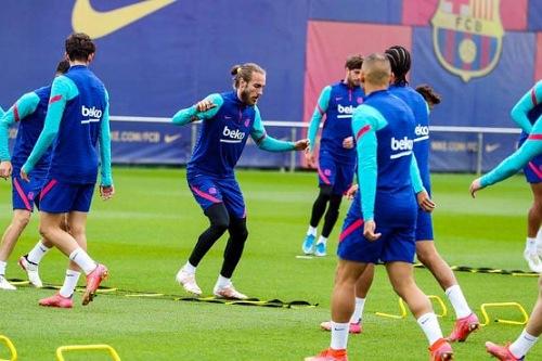 برشلونة يعود للتدريبات استعدادا لمواجهة سيلتا فيغو