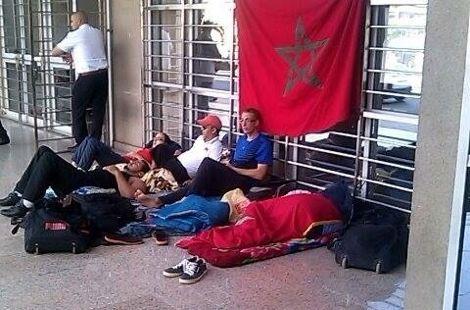 حاملو الميداليات البارالمبية يعتصمون بالرباط مطالبين بالادماج في الوظيفة 