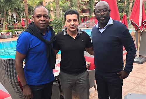 """بالصور.. نجوم العالم يتوافدون على مراكش للمشاركة في مباراة """"المسيرة الخضراء"""" الاستعراضية"""
