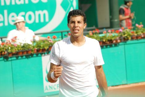 مغاربة التنس يخرجون من جائزة الحسن الثاني تباعا