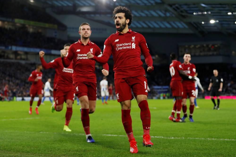 صلاح يقود ليفربول لتعزيز صدارته للدوري الإنجليزي
