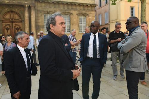 الشرطة الفرنسية تلقي القبض على بلاتيني