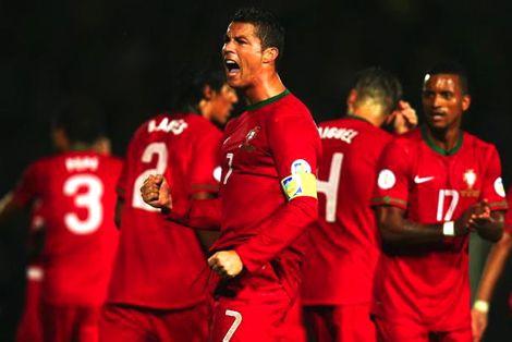 رونالدو يقود البرتغال للفوز على بلجيكا وديا