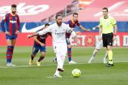 سيرجيو راموس قائد ريال مدريد الإسباني: ركلة الجزاء واضحة للغاية