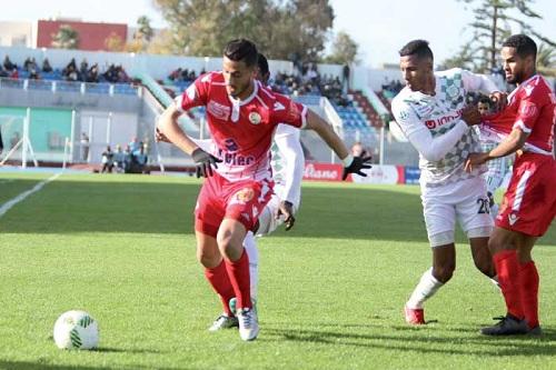 الوداد يفتتح مسار البطولة بهزم الدفاع الحسني في الجديدة