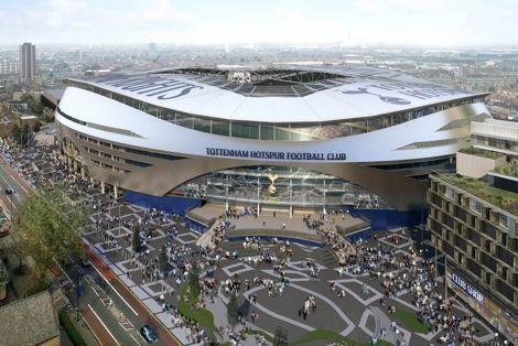 توتنهام يسعى لافتتاح استاده الجديد في 2017