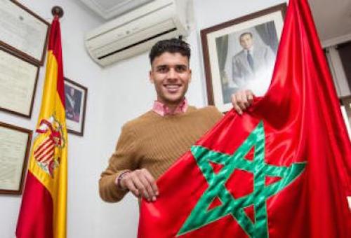 """لاركيت: لهَذا استدعَينا لاعب برشلونة محمد الزرفاني للمنتخب.. وهَاجس """"الحدادي"""" غيْر وارد"""