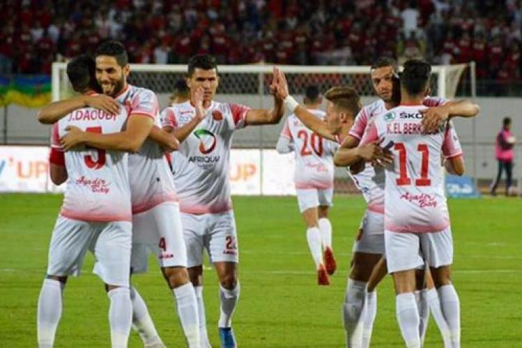 """الحسنية يعزز صدارة مجموعته في كأس """"الكاف"""" بفوز ثمين من الجزائر"""