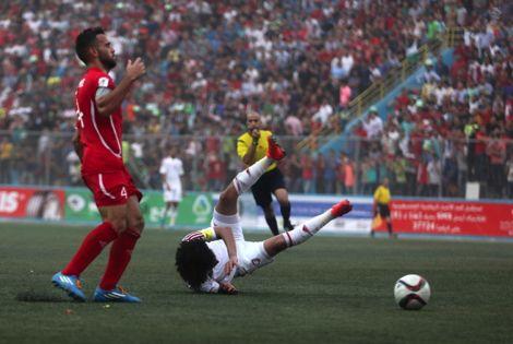 """لاعب فلسطيني: اقتَنصنا نقطة على أرضِنا و""""الصّهاينة"""" يُعيقون تقدّمنا"""