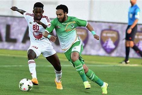 إيقاف الراقي في الدوري الإماراتي لأربع مباريات لاعتدائه على لاعب