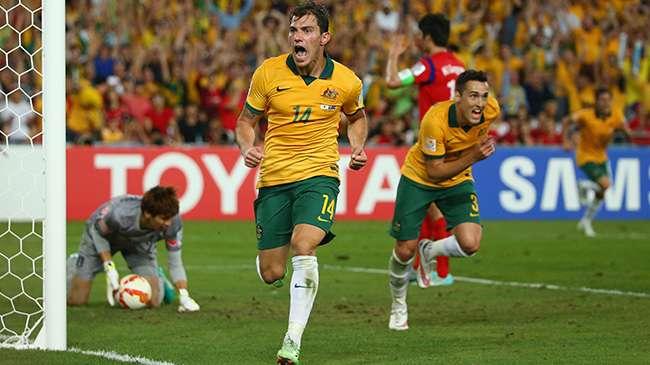 هزيمة الإمارات أمام أستراليا