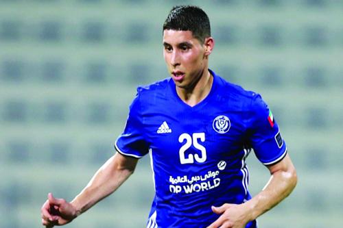 برادة يقود النصر لهزيمة باني ياس في كأس الخليج