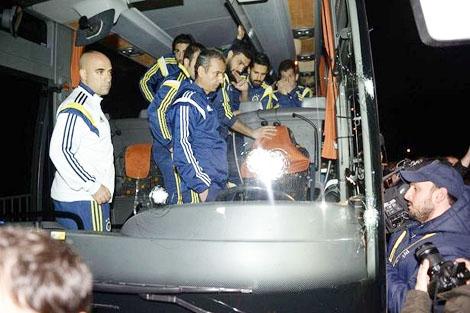 إيقاف الدوري التركي بعد هجوم فناربخشه