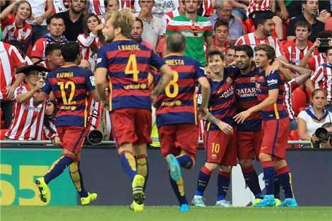 رقم جديد ينفرد به برشلونة في دوري الابطال