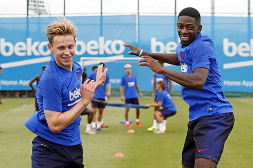 برشلونة يواصل التدريبات لليوم الثالث قبل السفر لليابان
