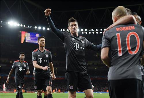 الحماس يسيطر على بايرن ميونيخ قبل مواجهة ريال مدريد
