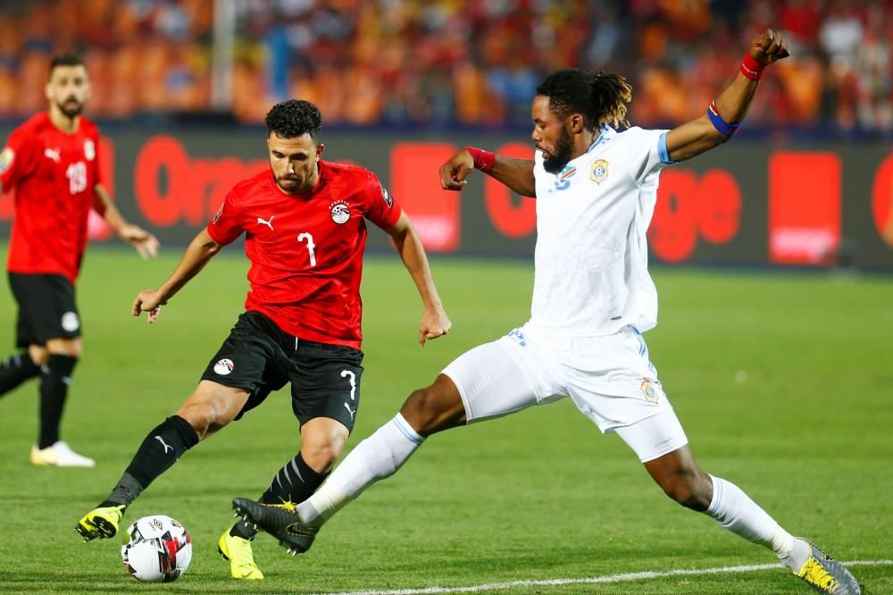 تريزيغيه أفضل لاعب في مباراة مصر والكونغو