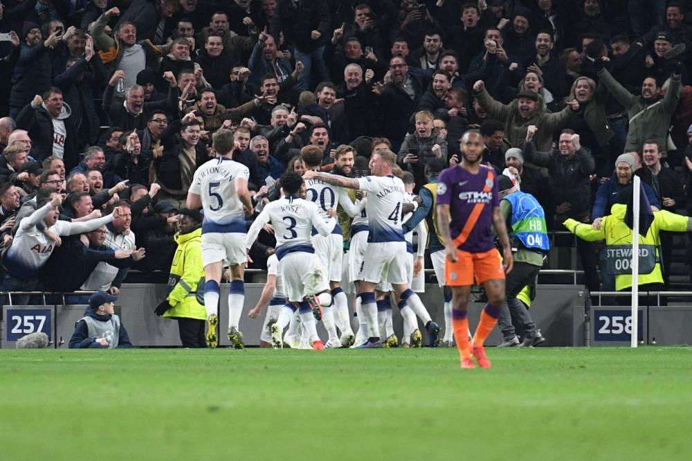 توتنهام يهزم مانشستر سيتي في أول ظهور على ملعبه الجديد في دوري أبطال أوروبا