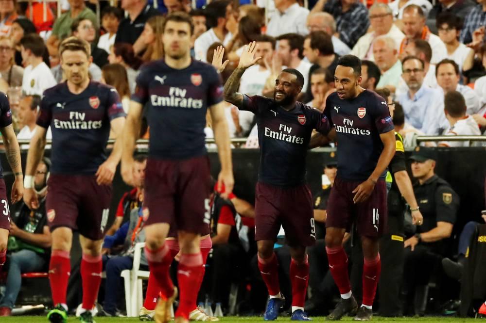 أرسنال يتأهل لنهائي الدوري الأوروبي بعد هزم فالنسيا ذهابا وإيابا