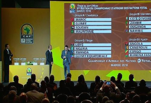 """قرعة كأس إفريقيا للمحليين تضع """"أسود الأطلس"""" في مجموعة عربية خالصة"""